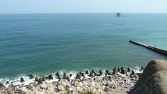 De kustlijn van de Krim