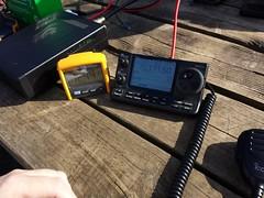 The Icom 7100 (Dave TAZ) Tags: portable beam amateur icom vhf hamradio amateurradio hf 70mhz m0taz