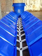 In the School of Business and Industry (SBI) at Florida A&M University (FAMU) ~ We Recycle (buddhadog) Tags: blue 400 300 recycle recycling bins pinnacle cmwdblue pinnaclelost1r101 100vu