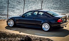 BMW E46 M3 (McKinnon99879) Tags: longexposure blue water purple chrome bmw static burnout bbs lowered slammed e46 lowlife dumped rwd burple hellaflush stanceworks loweredcongress bagsareforfags