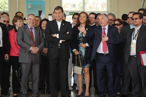 "El presidente de Ecuador, Rafael Correa, visitó el CAR • <a style=""font-size:0.8em;"" href=""http://www.flickr.com/photos/61278771@N07/13885888958/"" target=""_blank"">View on Flickr</a>"