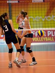 P4261254b (roel.ubels) Tags: sport arnhem nederland romania volleyball volleybal oranje jong 2014 roemenië nevobo valkenhuizen