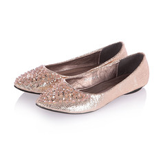 Pointed-toe Flats (xnjdwzg@yahoo.cn) Tags: newlight pinkrhinestone 2013fall pointedtoeflats