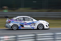 Mazda 3 sedan 20B racecar (belgian.motorsport) Tags: test 3 racecar sedan zoom racing testing zoomzoom van mazda supercar challenge rotary werner rotor axela mps wankel 20b btcs herck