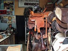 Cuenca - saddle/tack shop (ouno design) Tags: southamerica shop ecuador riding saddles cuenca saddlery tackshop