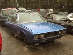 Scrap Italian. (RUSTDREAMER.) Tags: italian cornwall fiat scrapyard scrap 130 coupe pininfarina rustdreamer