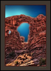 IMG_2559 F (the Gallopping Geezer 3.6 million + views....) Tags: park window nature canon landscape rockies utah nationalpark scenery arch view scenic arches scene moab rockymountains redrock 2008 geezer corel rockformation