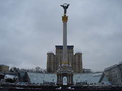 Maidan Nezalezhnosti (EuroMaidan) (Alexanyan) Tags: city square capital ukraine independence ukrainian kiev maidan україна майдан nezalezhnosti незалежності ուկրաինա євромайдан euromaidan