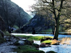 Dovedale-Walk (johnb/Derbys/UK) Tags: old trees winter history wet water reflections river rocks pov dove peakdistrict myworld dovedale unchanged thorpecloud derbyshireuk
