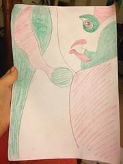 ORGANIC ART. was feeling lazy the other day. #sketch #unknown #new #fresh #arte #culture #creatures #weird #wonderful (kuzina_art) Tags: new wonderful weird sketch arte culture fresh unknown creatures