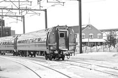 Railfanning New London, CT 2-15-15 (JaiJad) Tags: railroad snow train shot amtrak passenger railfan railfanning acs64