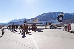 Alaska Airlines (Horizon Air) Bombardier Dash-8 Q400 N428QX (jbp274) Tags: people airport horizon airplanes mammothlakes dash8 qx alaskaairlines bombardier mmh q400 horizonair kmmh
