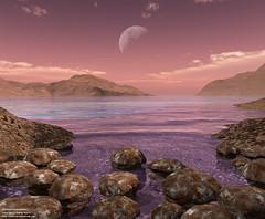 Archean Stromatolites – Eó Arqueà – Fa 3.800 a 2.500 M d'Anys (josemalleida) Tags: life moon nature earth evolution science naturalhistory creation astronomy prehistoric solarsystem comets spaceart precambrian astronomicalart anaerobe prearchean archeaneon anaerobicorganism