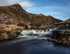 Tavy Cleave (Robgreen13) Tags: uk longexposure morning canon river landscape eos countryside waterfall devon granite tor moor dartmoor isolated moorland 650d rivertavy tavycleave marytavy 10stopper iplymouth yahoo:yourpictures=landscape yahoo:yourpictures=waterfalls