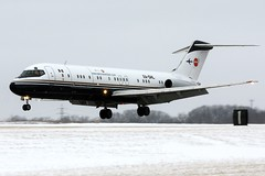 XA-DHL Aeronaves TSM DC-9-33RC(F) landing at KCLE (GeorgeM757) Tags: classic airplane aircraft aviation jet cargo freighter clevelandhopkins dc9 mcdonnelldouglas airfreight kcle alltypesoftransport georgem757 aeronavestsm xadhl dc933rcf
