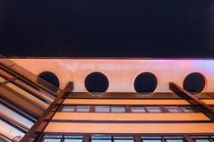 GGD Groningen (BRHendriks) Tags: city longexposure holland netherlands architecture night stars photography evening nikon fotografie nacht groningen avond stad architectuur d90 ggd
