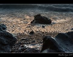 Black Sand Mood (Hamilton Images) Tags: sky rock clouds sunrise canon blacksand hawaii lava surf waves january maui hana waianapanapastatepark 2015 24105mm leefilter img2240 7dmarkii 09softedgegraduatedneutraldensity