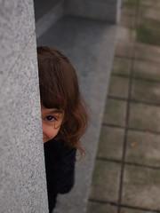 Hi de and peek (GLNT eye) Tags: kids pen olympus hidding epl3