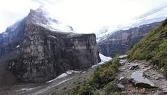 Mt. Lefroy (dbonny) Tags: canada mountains rockies hiking glacier alberta banff rockymountains albertacanada banffnationalpark mtvictoria canadianrockies mountvictoria victoriaglacier banffnp lefroy plainofthesixglaciers mountlefroy mtlefroy