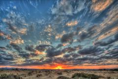 Desert sunset 3 /   3 (Kochum) Tags: sunset sky sun clouds nikon desert redsea egypt 1020 hdr    elquseir d90 sigma1020     alqusayr cloudsstormssunsetssunrises