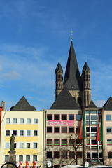 St. Martin (pesce_d_aprile) Tags: canon germany deutschland cologne kln stmartin spire colonia koeln germania brightcolours guglie