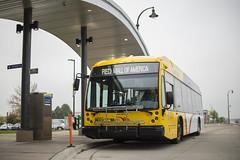 The METRO Red Line at Apple Valley Transit Station (metrotransitmn) Tags: bus minnesota publictransit publictransportation masstransit brt metroredline metrotransit metroline metrotransitmn
