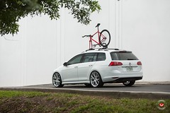 Volkswagen Golf SportWagon on Vossen Wheels