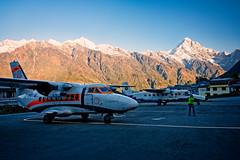 Lukla Airport in Nepal (CamelKW) Tags: nepal airport region everest lukla 2016 tenzinghillary everestpanoram