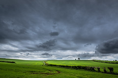 #My_favorite_field (Eric Goncalves) Tags: uk blue light sky cold green nature beautiful clouds landscape spring view horizon peaceful stormy gloucestershire fields nikond810 ericgoncalves nikon24120f14vr