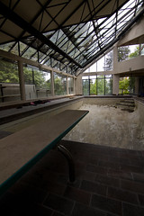 House Of Light (Mimi Martini) Tags: house abandoned architecture vancouver bc urbanexploration mansion 1970s indoorswimmingpool