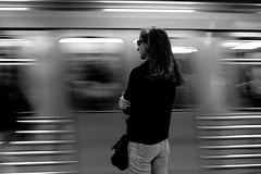movement (Kostas Katsouris) Tags: street urban station train subway moving movement fuji metro athens greece wait xt10