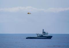 Approaching MV25 (SPMac) Tags: sea field construction ship offshore noordzee vessel gas ghana forza airbus ten oil service helicopters rem ssv supply vlaanderen maersk subsea ec175 helikopters helideck oons nhv