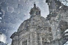 Navona abstract (Japo Garca) Tags: abstract roma art italia arte chiesa reflect cupola reflejo astratto piazzanavona riflesso fotografa charco cpula pozzanghera japogarca