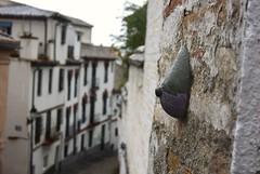 Intra Larue 689 (intra.larue) Tags: street urban art breast arte pit granada urbano teta sein grenade moulding espagne andalousie espagna urbain pecho intra espanya formen seno brust moulage tton andalouzia