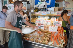 Pike Place Fish Market 1 (5) (Tommy Hjort) Tags: seattle travel usa fish market pikeplacemarket fishmarket fisk marknad