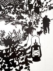 MBosley_PartandParsleydetail (TheWayThingsWere) Tags: silhouette paperart silhouettes papercut papercuts papercutting mollybosley