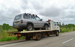 The Joys Of Travelling - Part 3 (shaneblackfnq) Tags: travelling broken car truck mechanical nt australia down toyota tropical outback northern landcruiser problems tow tropics joys territory mataranka shaneblack