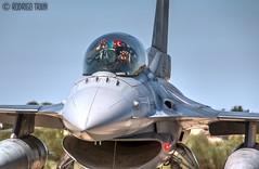 TURKISH AIR FORCE. F-16. 192 Tiger Squadron. (Rodrigo Tran Corts) Tags: airport tiger zaragoza f16 aeropuerto tigre turkish spotting nato avion caza otan tigermeet maniobras garrapinillos ntim2016