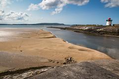 Wales Coast Path Day 26  (9) (ChrisJS2) Tags: lighthouse walking outdoors coast carmarthenshire coastal coastpath burryport walescoastpath carmarthenshirecoast