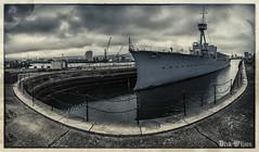 HMS Caroline (D.k.o.w) Tags: denmark war vessel northsea firstworldwar royalnavy hmscaroline titanicquarter battleofjutland belfastdocks belfastwarship jutlandpeninsula canon7dmkii canon7dmark2