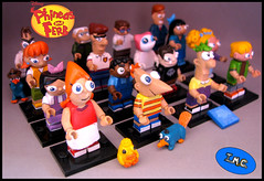 gruop_all (-iacopo / Minifigures / Custom-) Tags: orange green toys lego disney collection series characters minifig custom phineas imc 2016 minifigures ferb phineasandferb