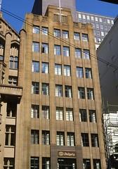 Melbourne Collins St 409-413, 1984 20thC offices slides folder sheet 09  053 (Graeme Butler) Tags: architecture culture decoration events heritage history industry melbourne victoria australia
