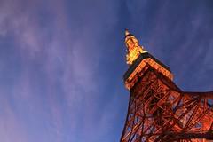Tokyotower Sky Twilight Sky The Sky I Want To Share With Somebody (reno220) Tags: sky tokyotower twilightsky theskyiwanttosharewithsomebody