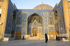 Shah Mosque 9 (Martin Tsvetkov) Tags: travel architecture photography lights iran perspective mosque wallpapers isfahan shah