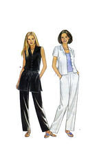 NewLook.6875.f.WEB (findcraftypatterns) Tags: new look uncut pattern top sewing or leg front womens short button casual straight sleeve pant camisole sleeveless tunic trouser 6875