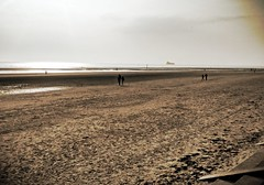 Crosby Beach (4) (bobbex) Tags: sea beach liverpool coast sand gormley crosby merseyside ironmen