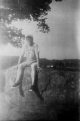brenda_devils_den (Judy M. Boyle) Tags: expired film 120 blackandwhite landscape caffenol caffenolc gettysburgpa gettysburg gettysburgbattlefield