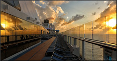 Anthem of the Seas (Retired....with camera!) Tags: sunset canon eos ship cruiseship royalcaribbean 70d tonemapping efex anthemoftheseas pspx8 paintshopprox8