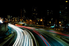 Ward Bridge (Silky Mitts) Tags: nightphotography travel night lights hawaii nikon long exposure outdoor freeway honolulu aloha d7000