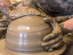 Skillful Hands_1040605 (HJSP82) Tags: hands potter clay making throwing skill forming 20160601theoldtileworks